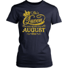 This Queen Was Born On August 18th T-shirt August Queens