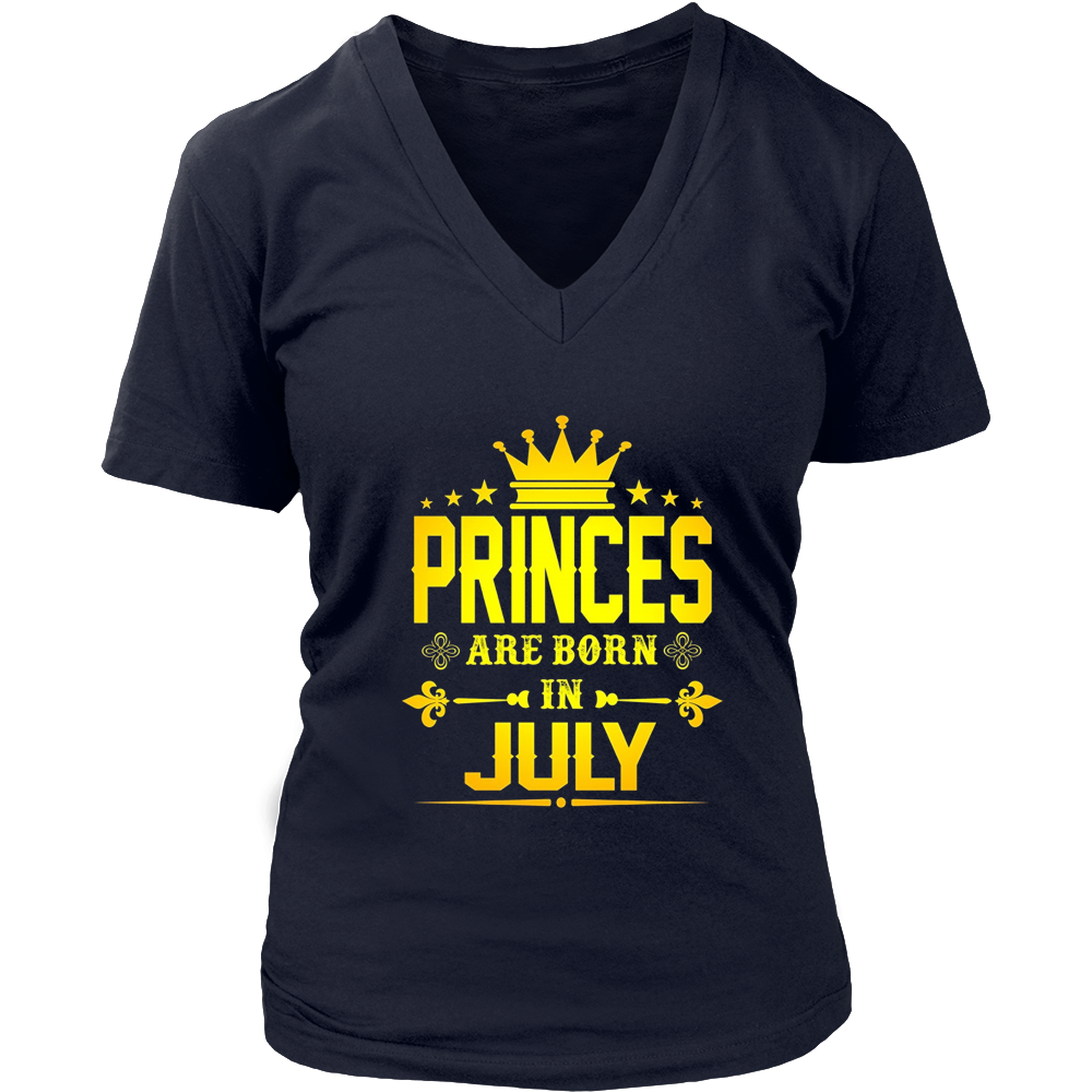 Princes Are Born In July Tshirt