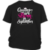 Queens Are Born in September Shirt - Birthday Gift For Girl