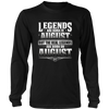 Legends Are Born On August 27 T-shirt Hoodie Birthday