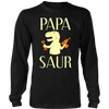 Cute Papa Saur Gift Father Day Daddy Dinosaur T-Shirt