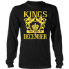 Kings are born DECEMBER