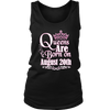 Queens Are Born On August 20th Funny Birthday T-Shirt