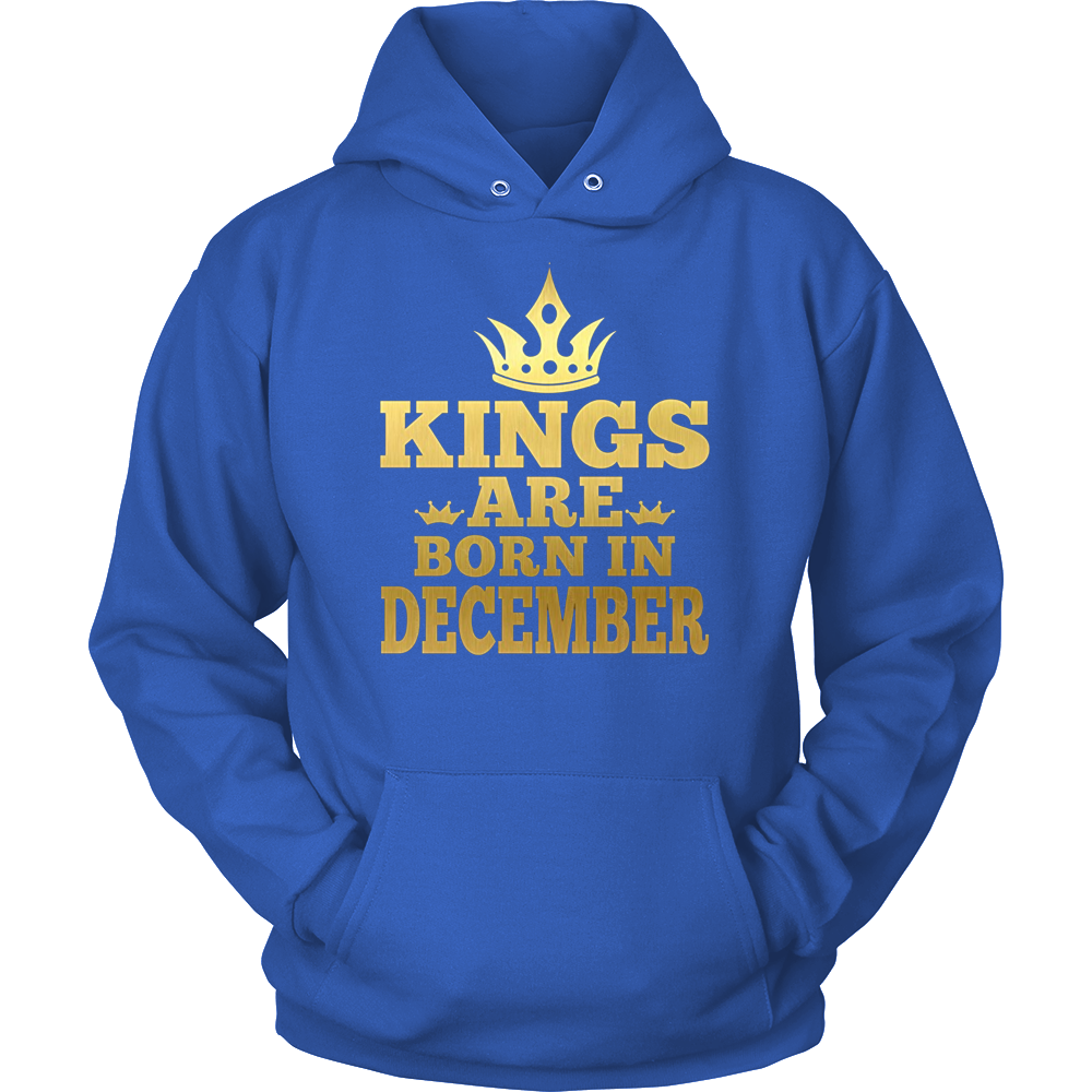 Kings Are Born In December Shirt, Birthday In December T Shi