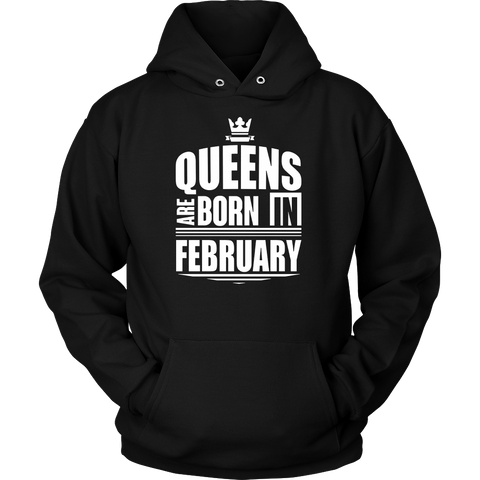 Women's Funny Shirt Queens Are Born In February