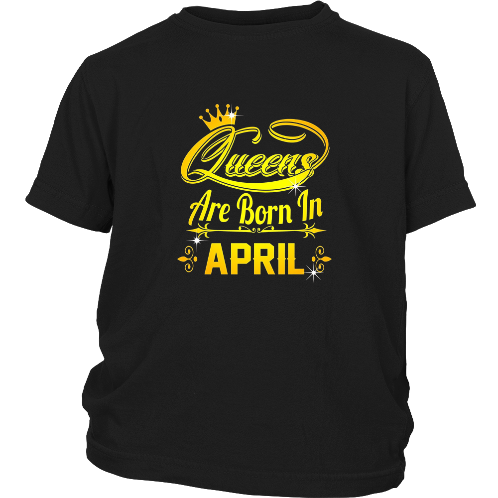 Queens are born in August t-shirt - Birthday Gifts