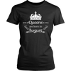 Girls' and Women's Queens Are Born in August T Shirt