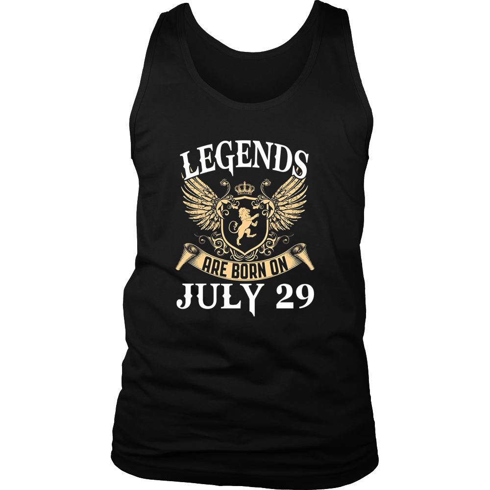 Legends Are Born On July 29 T-Shirt