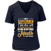 I'm A September Woman T-Shirt Birthday Girls Gift Shirt