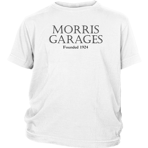 Youth MG Morris Garages British English Cars Founded 1924 T-shirt