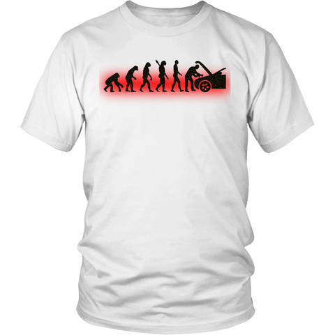 Men's Evolution Mechanic Funny T-shirt Automotive Technician Gift