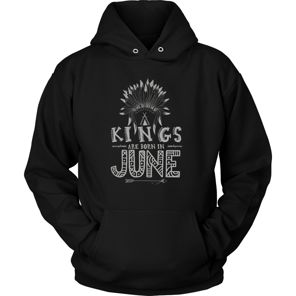 KINGs Are Born in June Shirt, June Birthday Shirts For Men