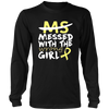 MS Messed with the Wrong Girl T-Shirt