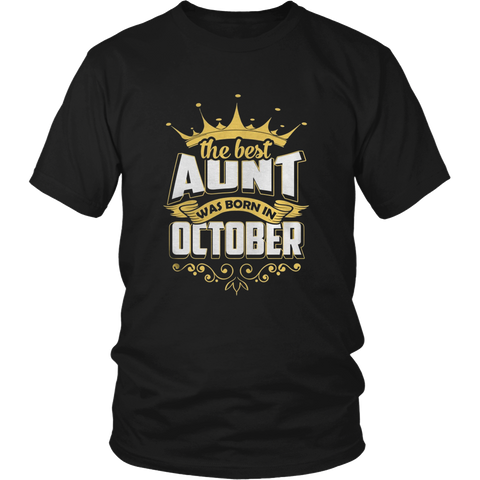 THE BEST AUNT WAS BORN IN OCTOBER