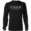 Dad T-Shirt Funny as Chemistry for Fathers Day 2017 Birthday