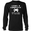 Level 9 Complete T-Shirt Funny 9th Birthday Gift Gamer