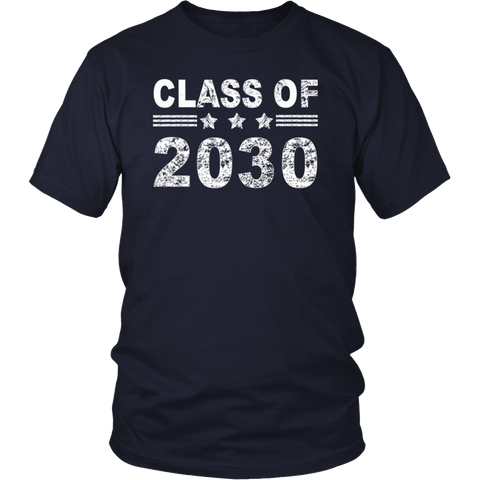 Class of 2030 T-Shirt - Future Kindergarten Graduate