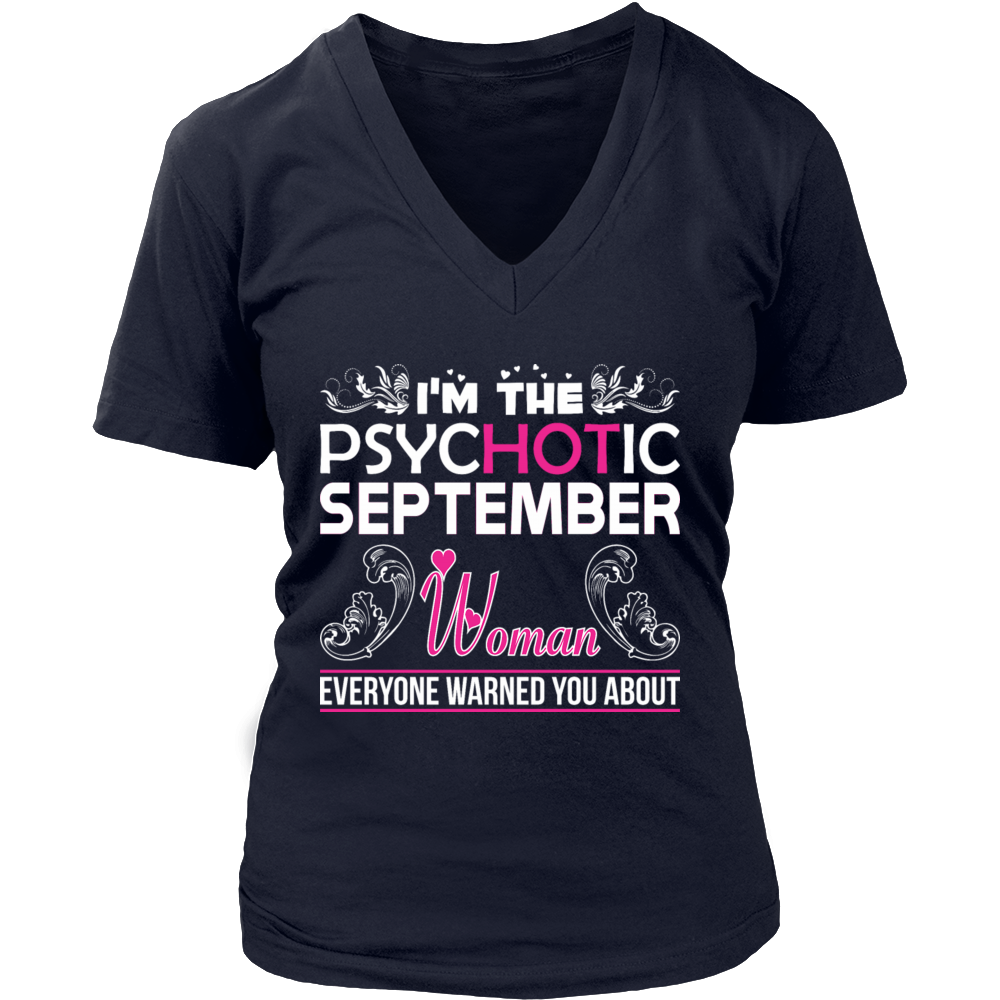 I'm A September T-Shirt Funny Gift Shirt For Girl