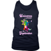 Dabbing Unicorn September Shirt -Funny Birthday t Shirt
