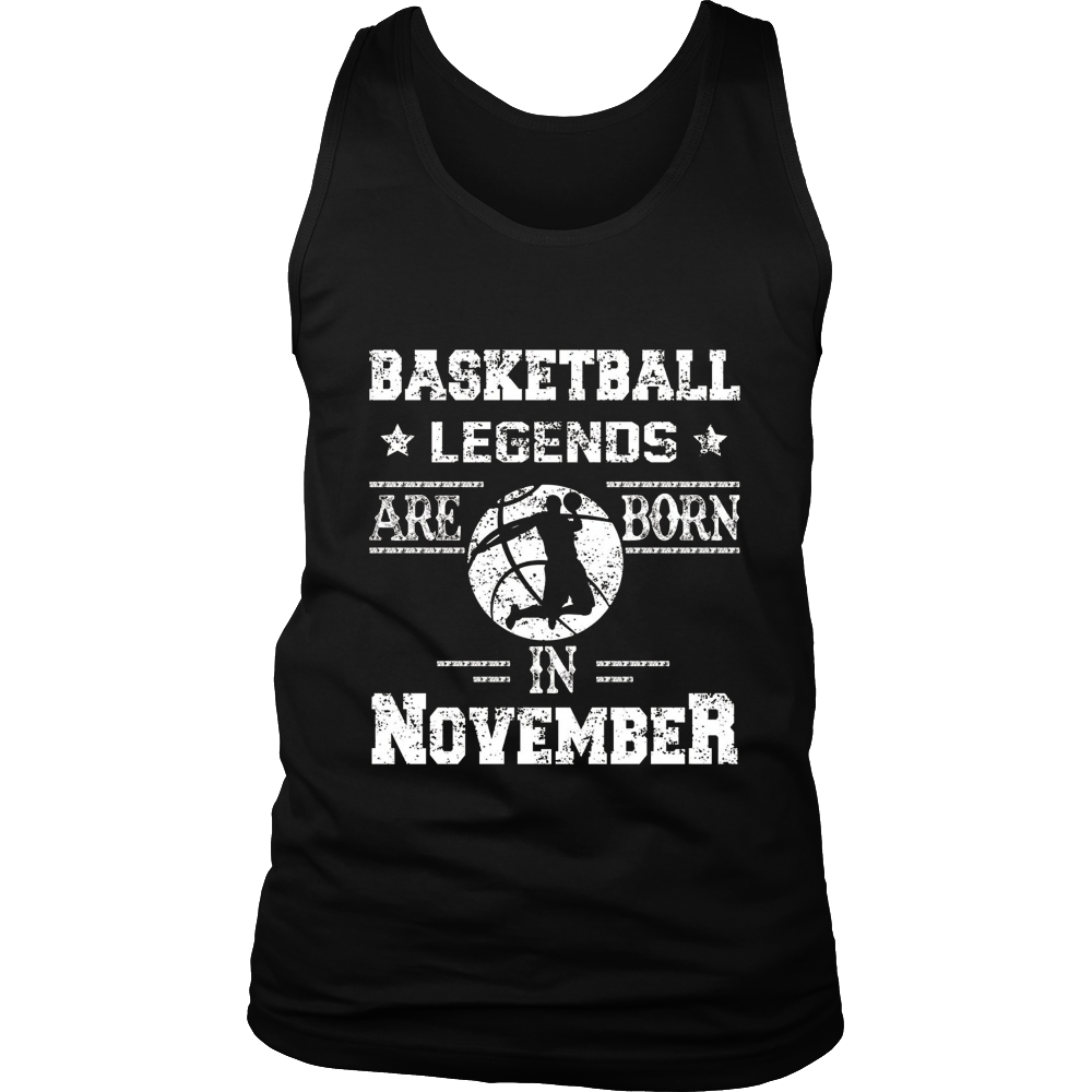BASKETBALL LEGENDS ARE BORN IN NOVEMBER