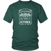 Legends Are Born In October Vintage Shirt