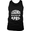 Legends Are Born In April Native Tshirt