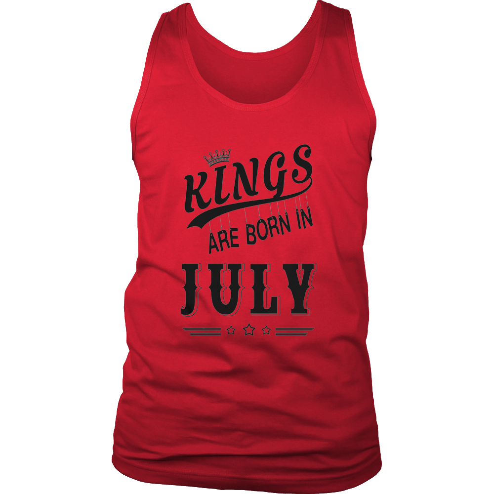 KINGS ARE BORN IN JULY