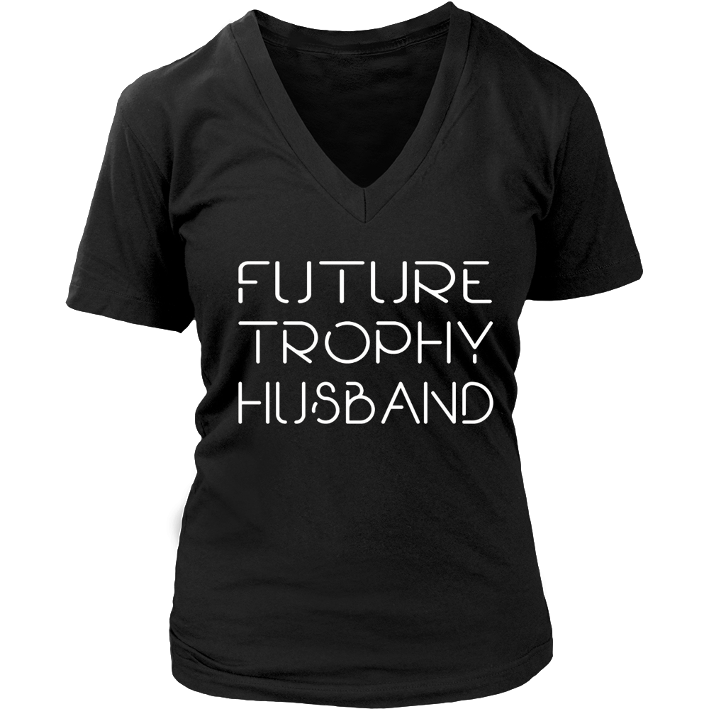 Trophy Husband Tee Funny Father's Day T-Shirt