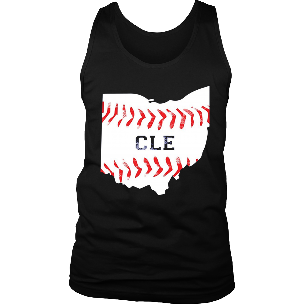 Distressed Cleveland Baseball Shirt Cleveland Ohio T-Shirt
