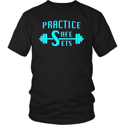 Workout T-shirt Practice Safe Sets Fitness Tee shirt