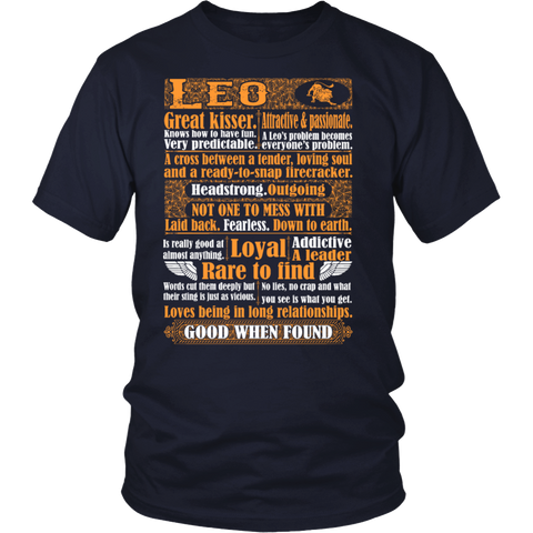 Leo Loyal Rare Find Good When Found Tshirt