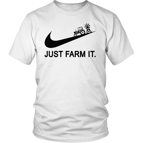 Just Farm it Farming T-Shirts Special Gifts for Farmers