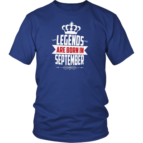 Legends Are Born In February Shirt - Birthday Shirt