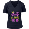 Queens Are Born On July 30 shirt