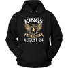 KINGS ARE BORN ON AUGUST 24