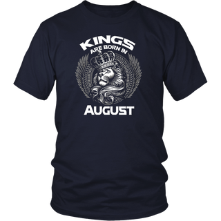 Kings Are Born In August (GK) T-Shirt