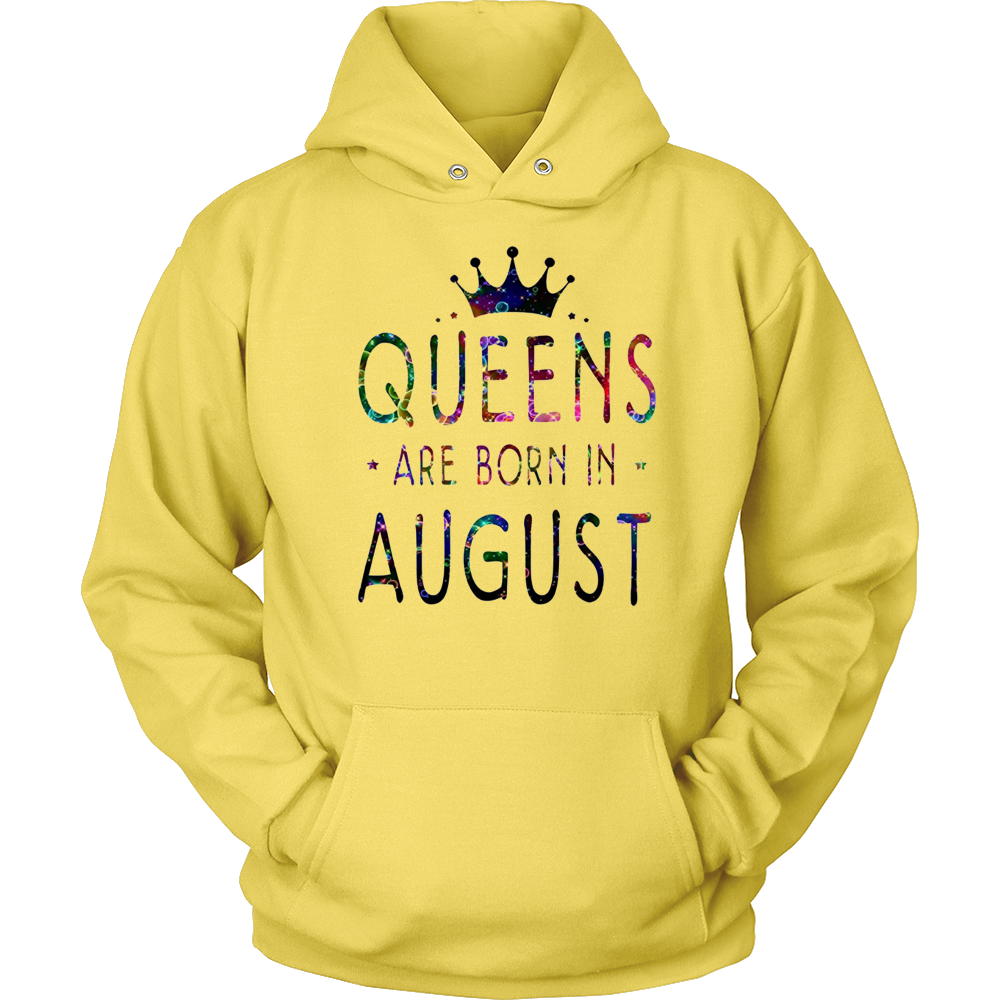 Queens are born in August Colorful Tshirt