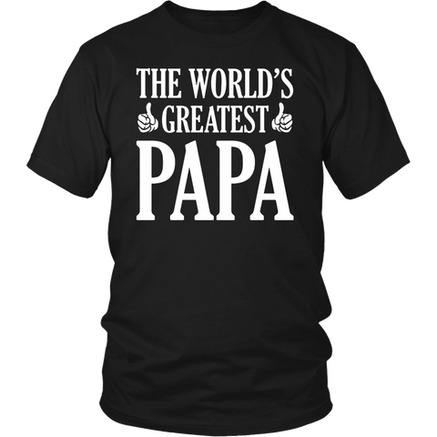 World's Greates't Papa T-Shirt