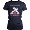 The Best Unicorns Are Born In November Shirt Magical Hooodie