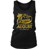 This Queen Was Born On August 24th T-shirt August Queens