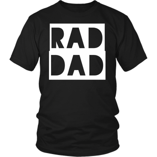 Rad Dad Father's Day Gift Shirt
