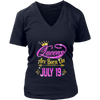 Queens Are Born On July 19 shirt