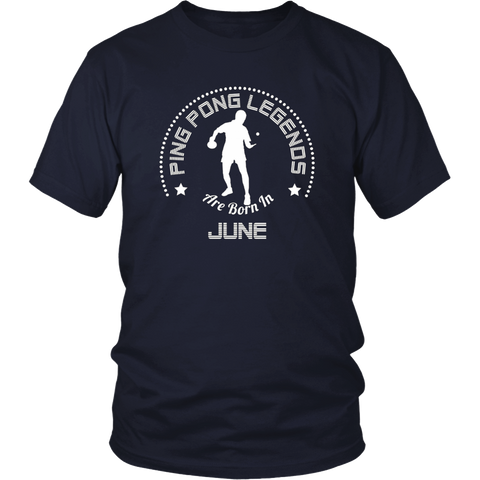 Legends Are Born In June T-shirt - Birthday TShirt
