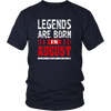 Legends Are Born In August T Shirt - Birthday TShirt Gift