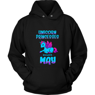 Unicorn Princesses are Born in May Shirt