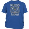 KINGS ARE BORN IN DECEMBER T SHIRT