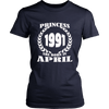 PRINCESSES 1991 ARE BORN IN APRIL TSHIRT