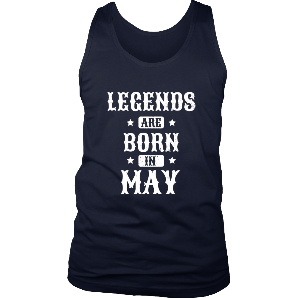 happy birthday tshirt legends are born in may