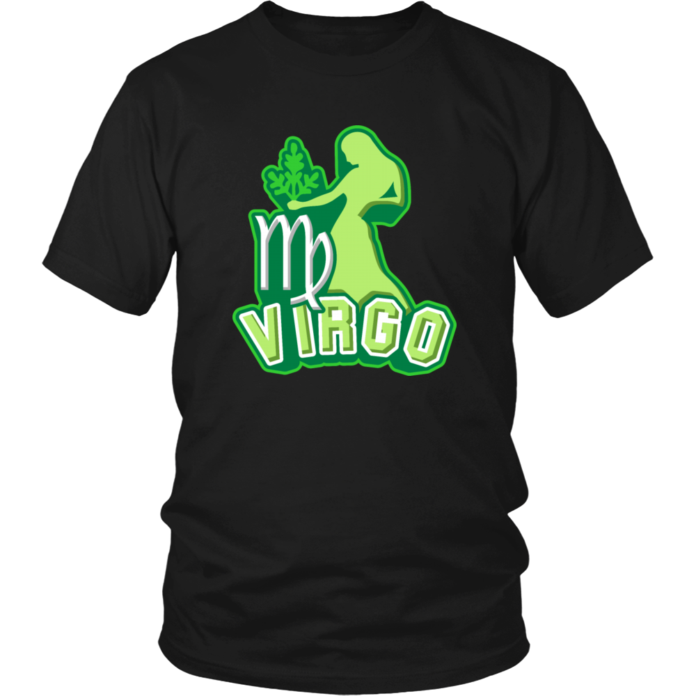 zodiac sign virgo t-shirt