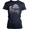 Women's Queens Are Born In December T-Shirt - Birthday Tee